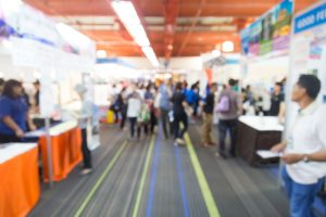 Event marketing success at a trade show