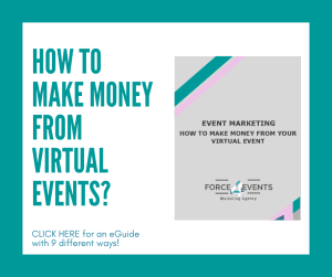 making money from virtual events