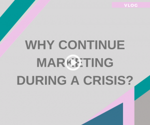 continue marketing during a crisis