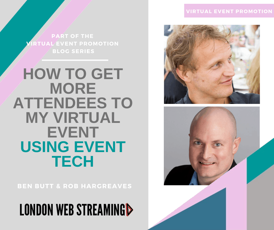 virtual event tech
