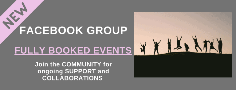 fully booked events group announcement