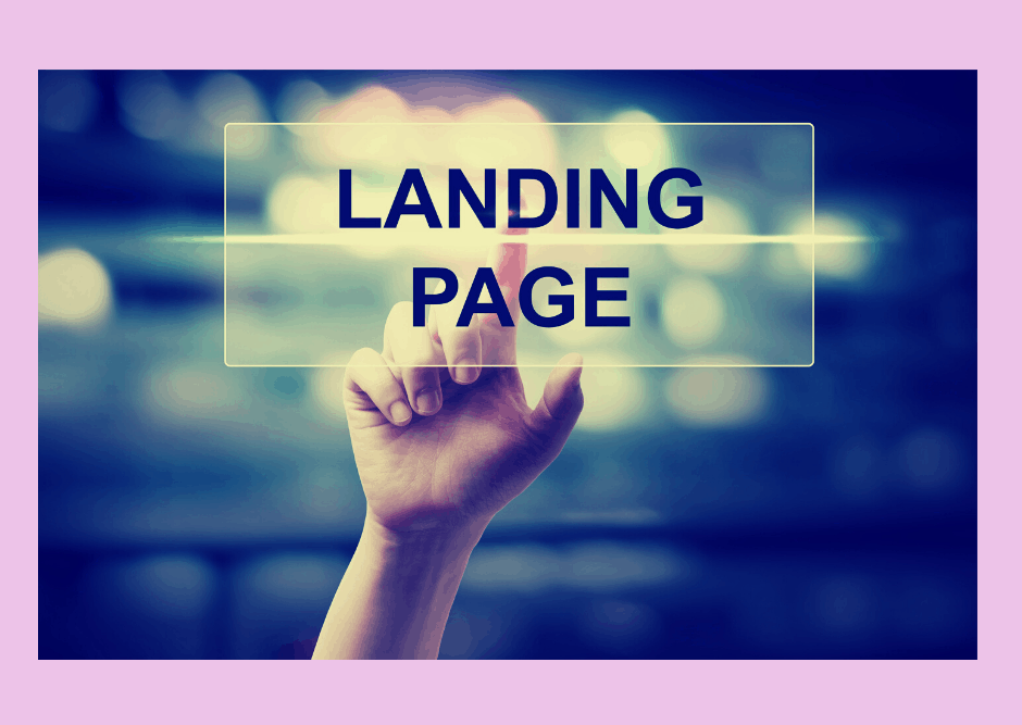 the power of an event landing page