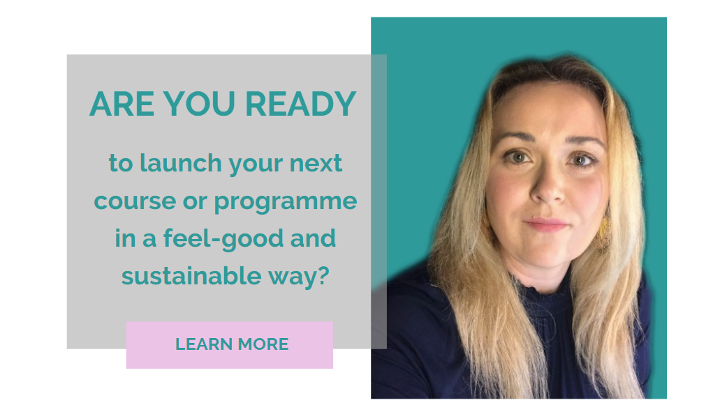 Raimonda Helping course creators to launch their course without overwhelm