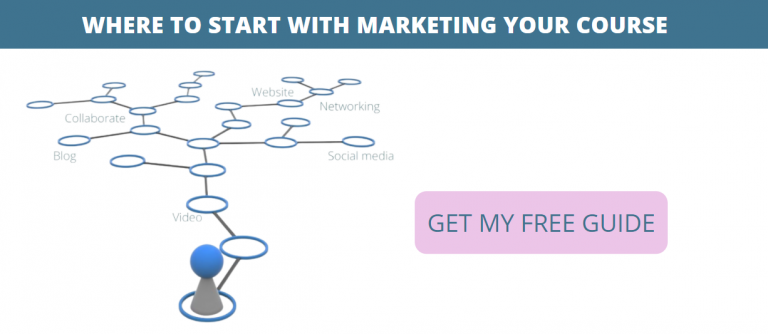 where to start with marketing your course